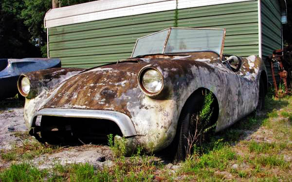 Mystery Fiberglass Car