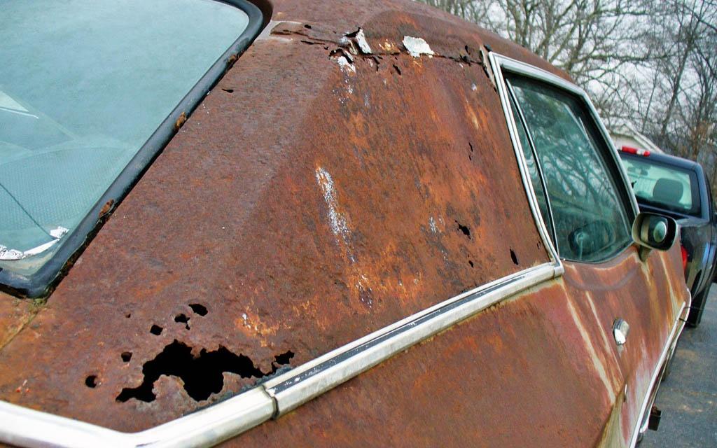 Rusty Big Block 1972 Ford Gran Torino