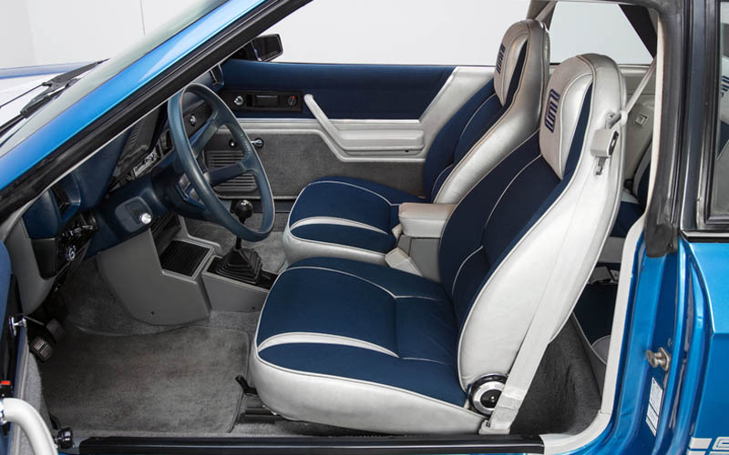 Shelby Charger Interior