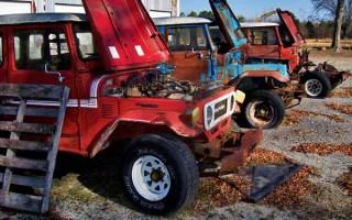 Toyota FJ40s Projects