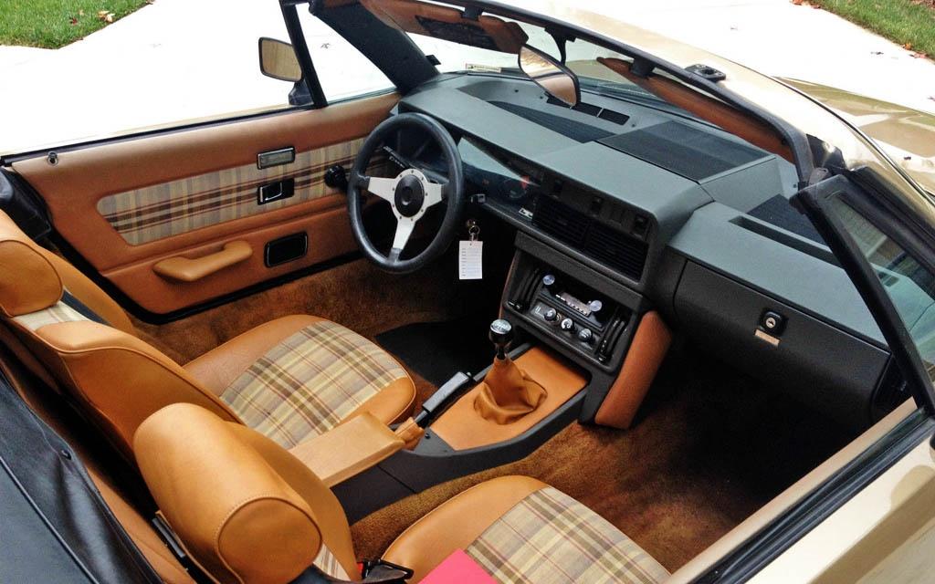 Triumph TR8 Interior