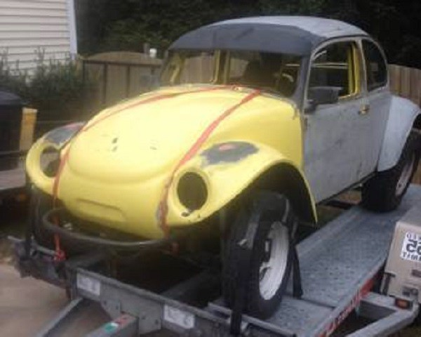 Mexico, Here We Come: 1966 VW Baja Bug
