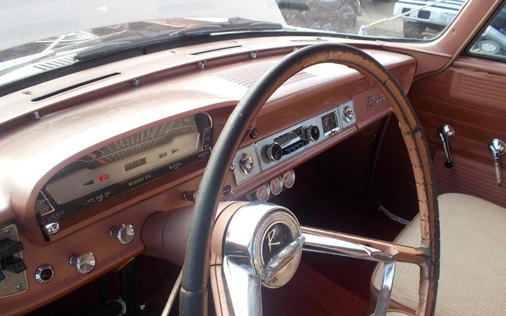 Two Tone Stylin 1962 Rambler Classic Wagon