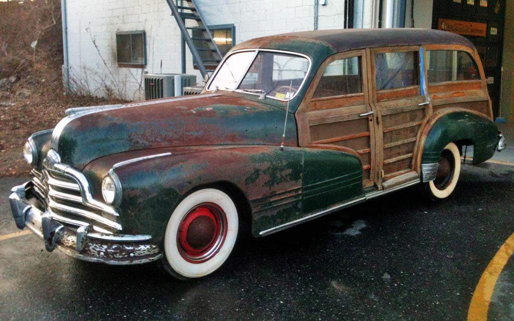 1947 Pontiac Woodie Wagon