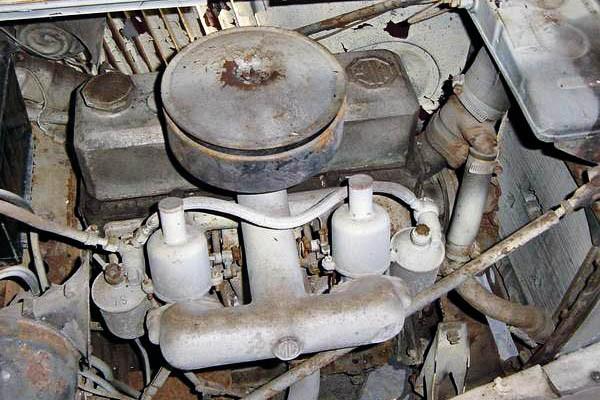 1953 MG-TD Engine
