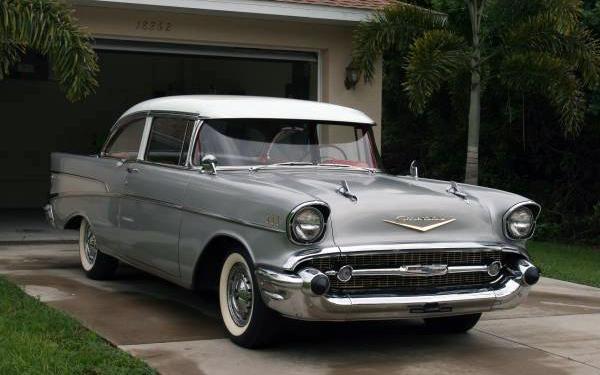 13,600 Miles: 1957 Chevrolet 2-Door