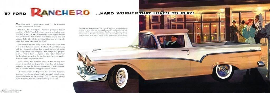 It U0026 39 S A Car  It U0026 39 S A Truck  It U0026 39 S A 1957 Ford Ranchero