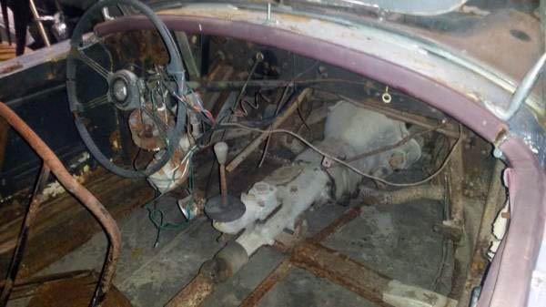 1958 MGA Cockpit