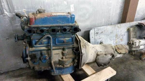 1958 MGA Engine