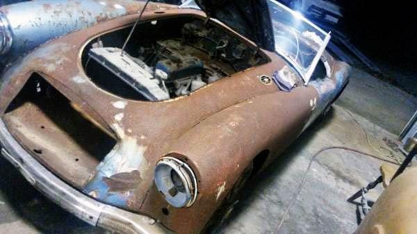1958 MGA Rusty Fender