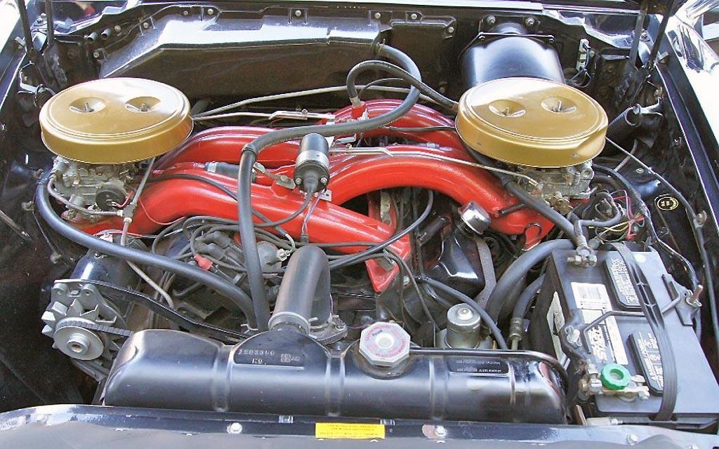 Cutting edge 1960 chrysler 300f for Motor for chrysler 300