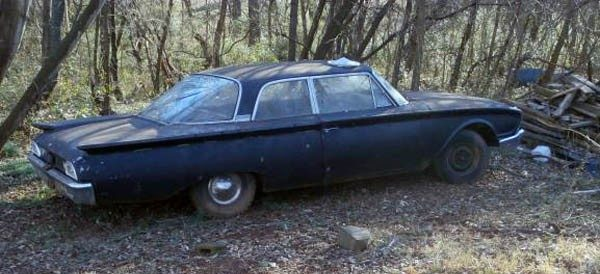 1960 Ford Fairlane Club Sedan