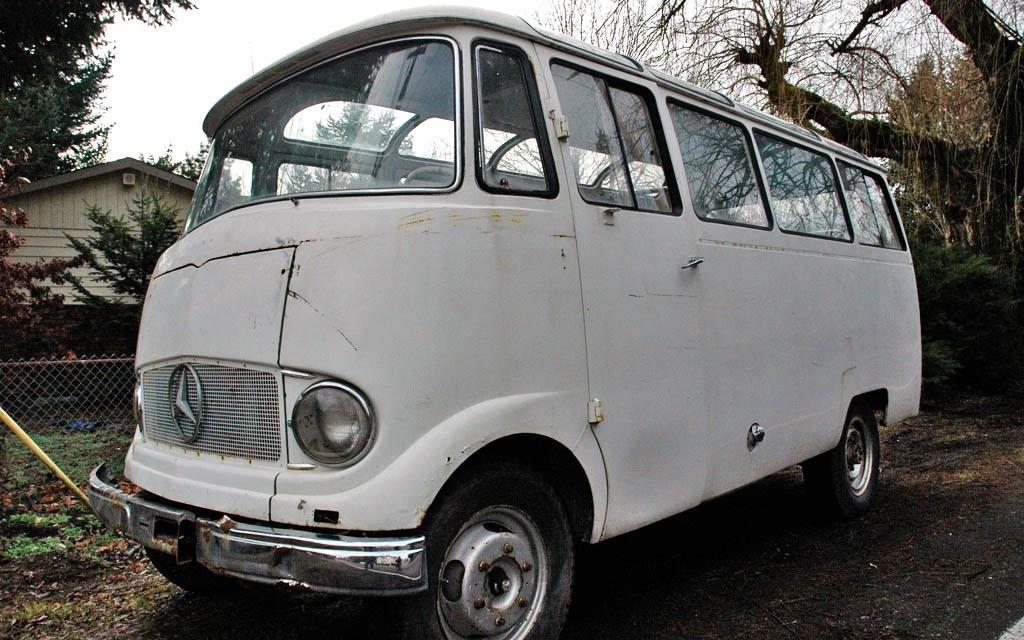 1960 Mercedes 0319D