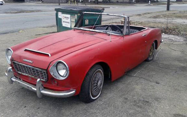 Is This 1964 Datsun Fairlady For You?