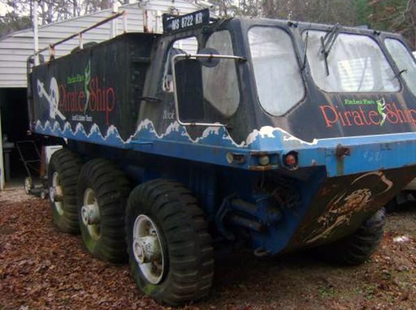 Six Wheeled Party Bus: 1969 Alvis FV620 Stalwart