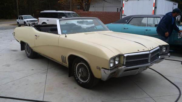 4 Door Convertible >> Summer Cruiser: 1969 Buick Skylark Convertible