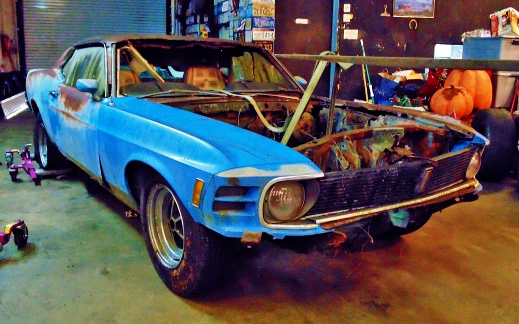 A Day Late 1970 Mustang Kk 429