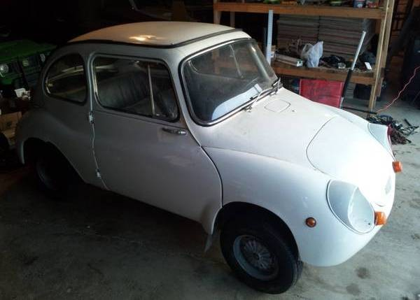 A Big Idea 1970 Subaru 360