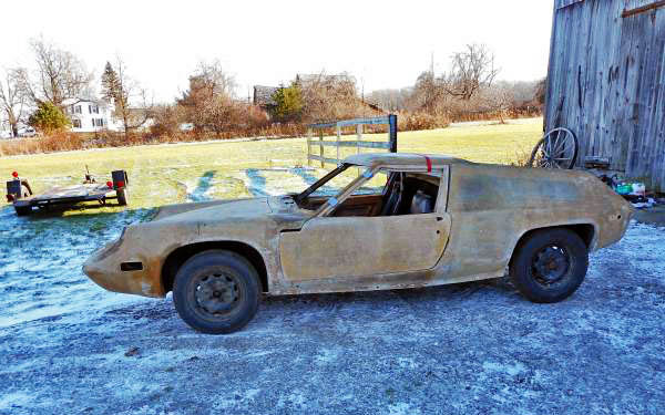 Ugly Duckling: 1971 Lotus Europa S2