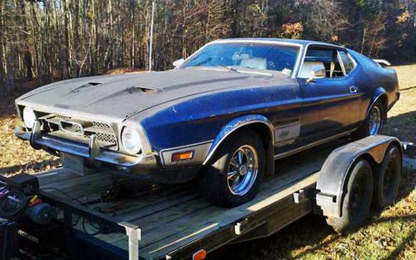 1972 Mustang Mach I
