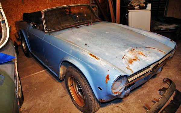 I Checked-Out this Real Barn Find TR6