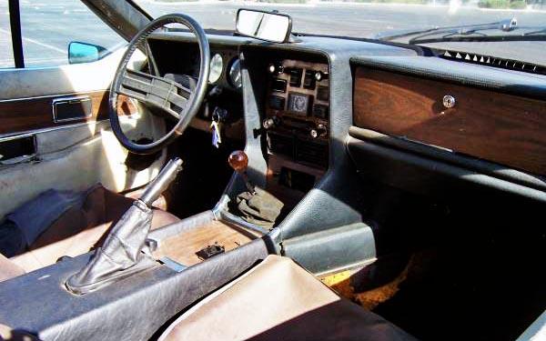 1974 Lotus Elite Interior
