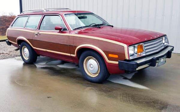 Plaid Perfection: 1979 Ford Pinto Wagon