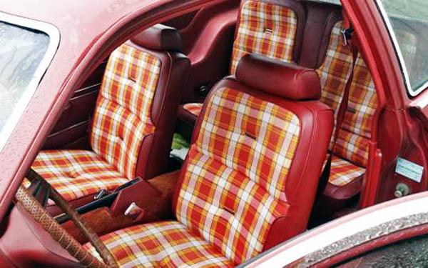 1979 Pinto Wagon Interior
