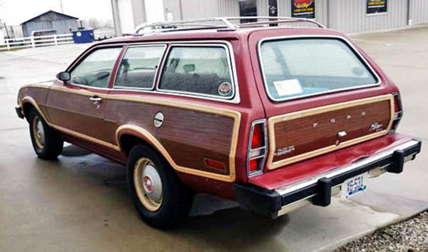 Plaid Perfection 1979 Ford Pinto Wagon
