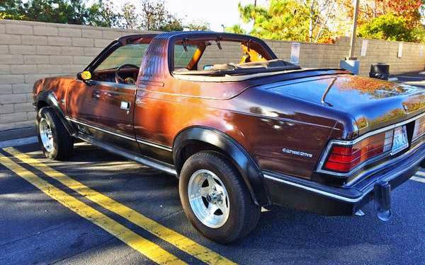 1982 AMC Eagle Sundancer