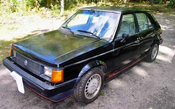 1985 Dodge Omni GLH