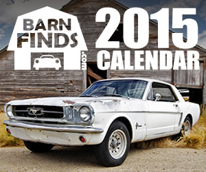 2015 Barn Finds Calendar