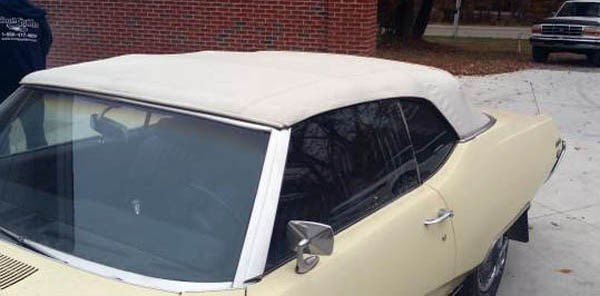 Buick Skylark Convertible Top