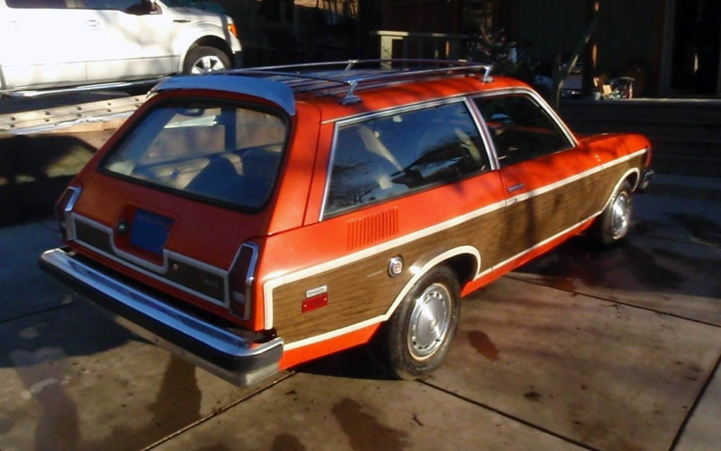 Chevy Vega Woodie Wagon