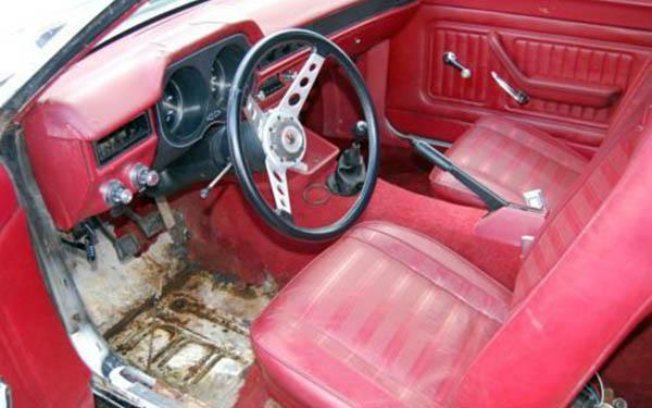 Cruising Wagon Interior