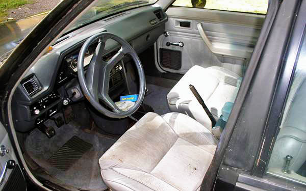 Dodge Omni GLH Interior