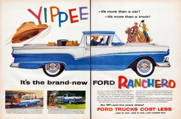 Ford Ranchero Ad