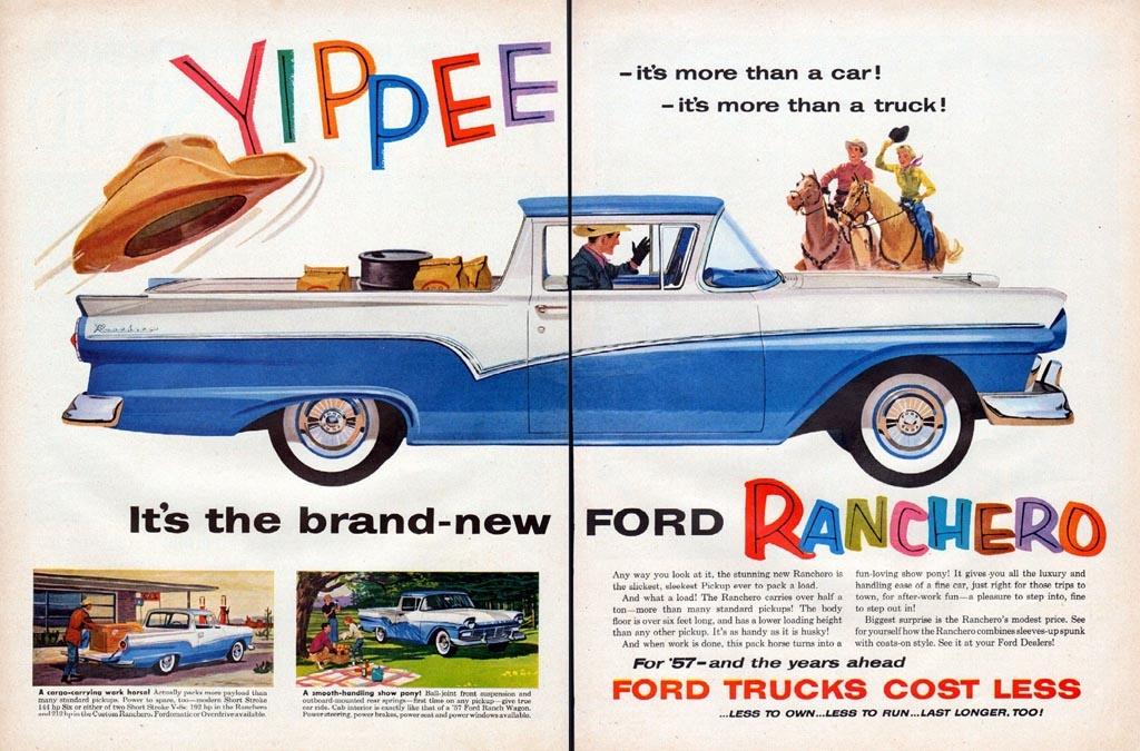 It S A Car It S A Truck It S A 1957 Ford Ranchero