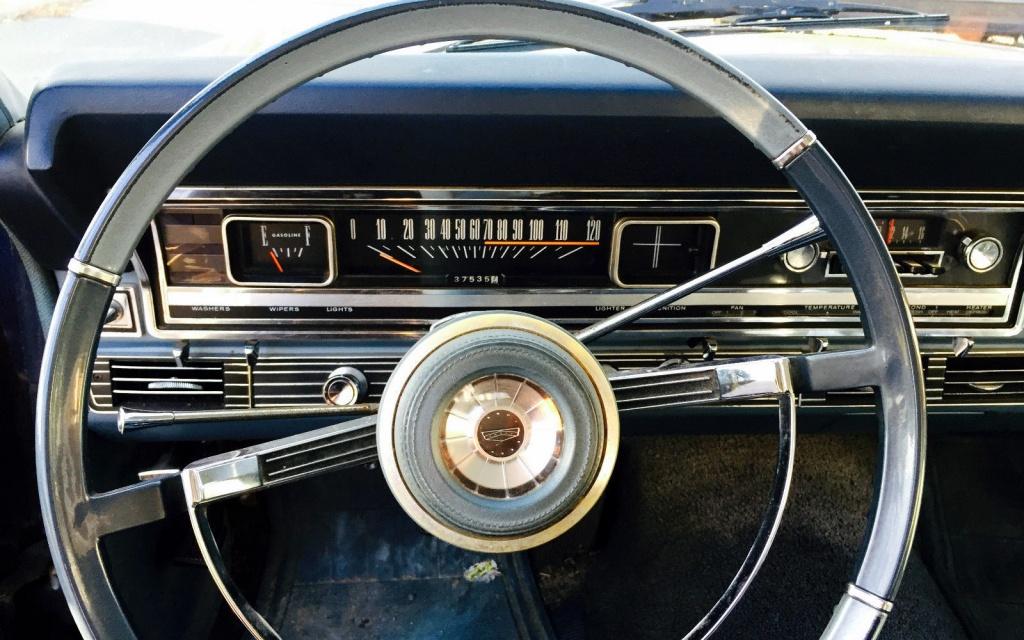 Ford Squire Interior