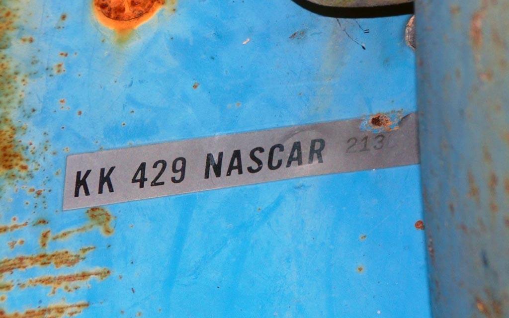 KK 429 NASCAR
