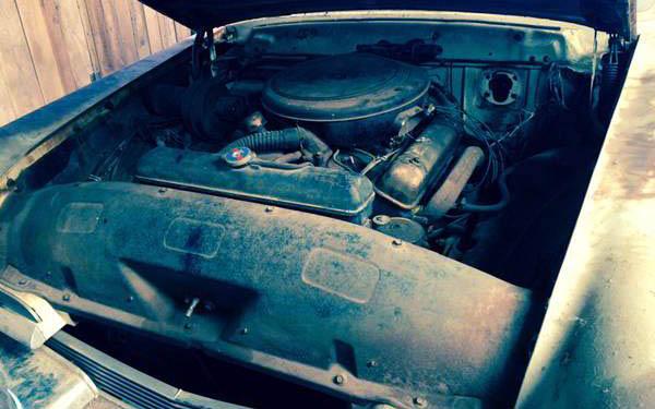 Lincoln Capri Engine