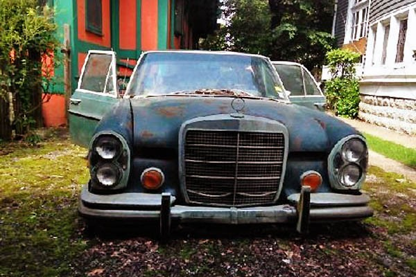 Mercedes 300SEL Project