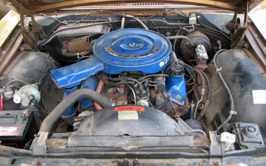 Mercury Monterey Engine