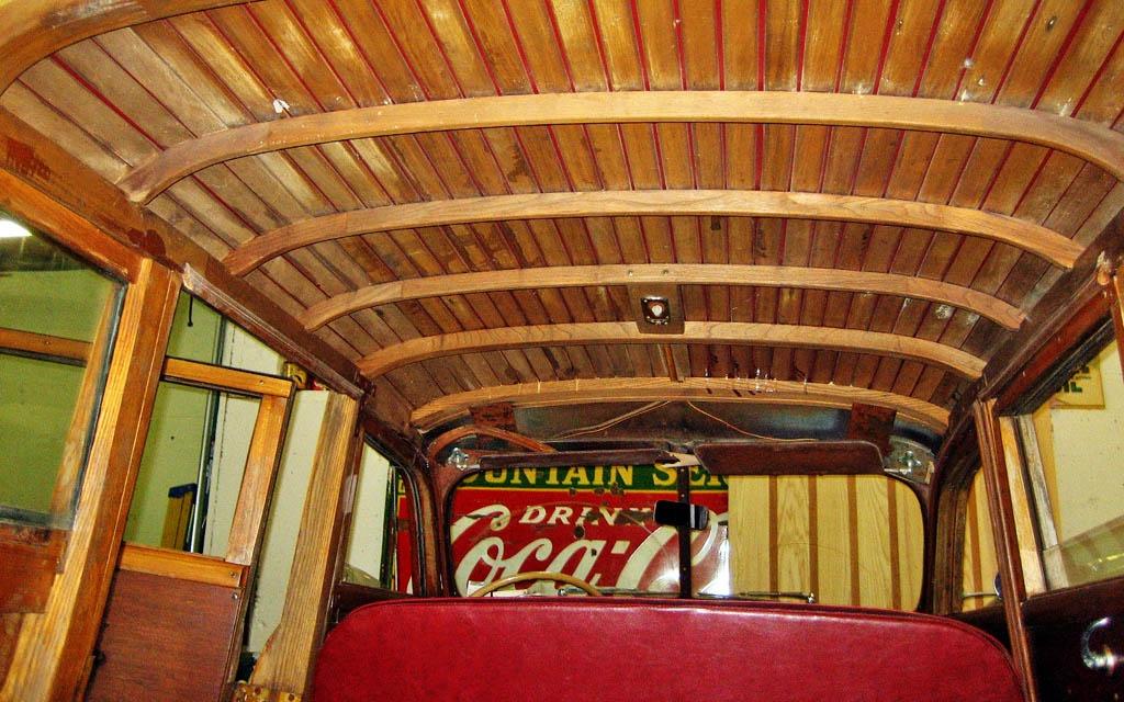 Pontiac Woodie Roof