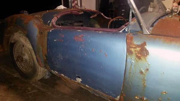 Rusty 1958 MGA