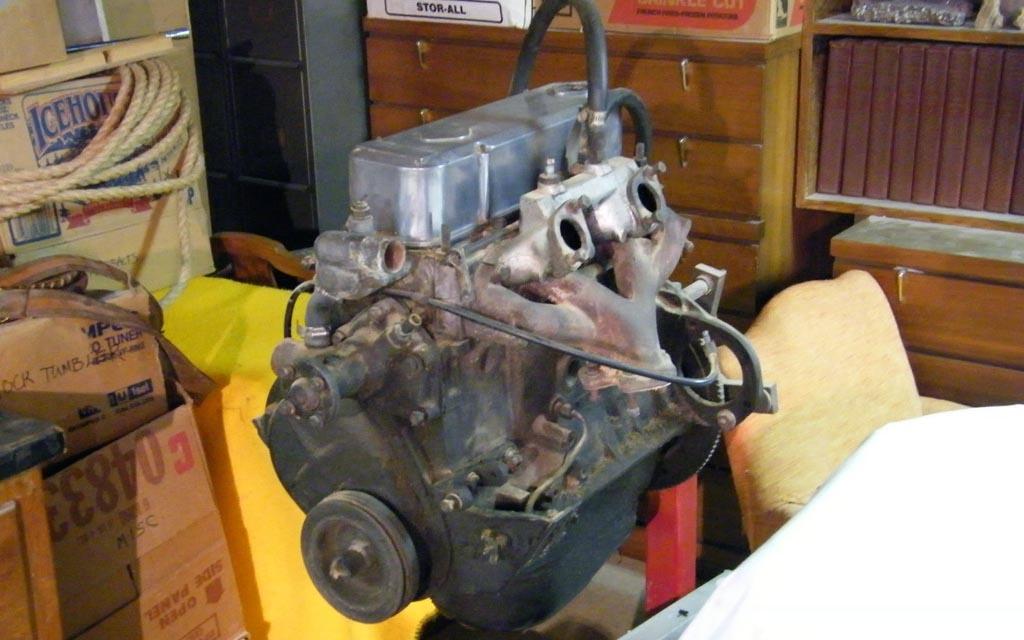 Sunbeam Alpine Engine
