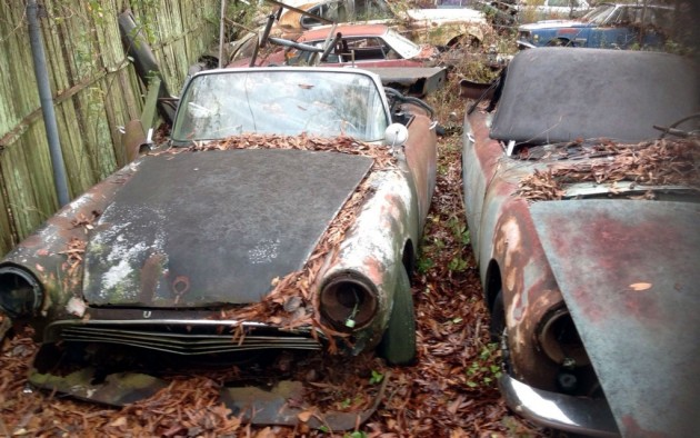 "A ""Barn Find"" Yardfull"