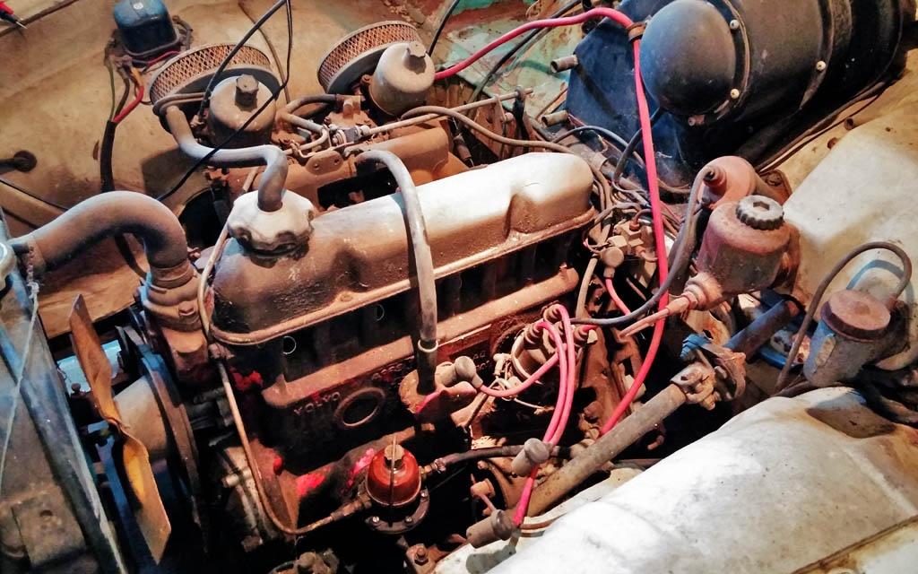 Volvo 122S Motor