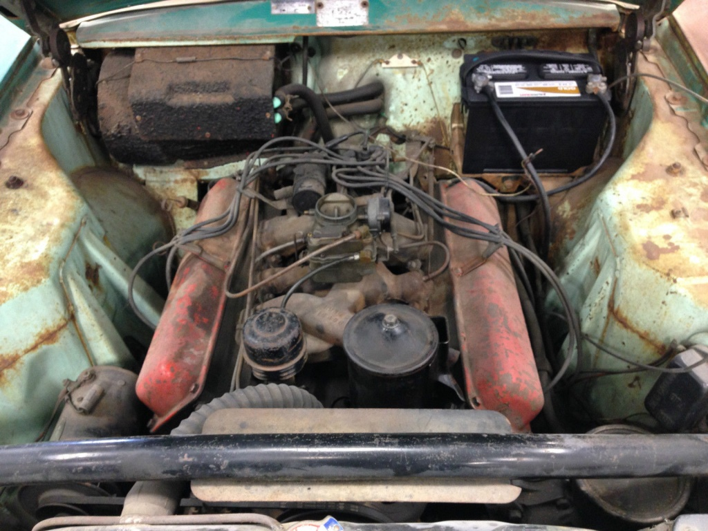 Runs And Drives 1956 Hudson Hornet