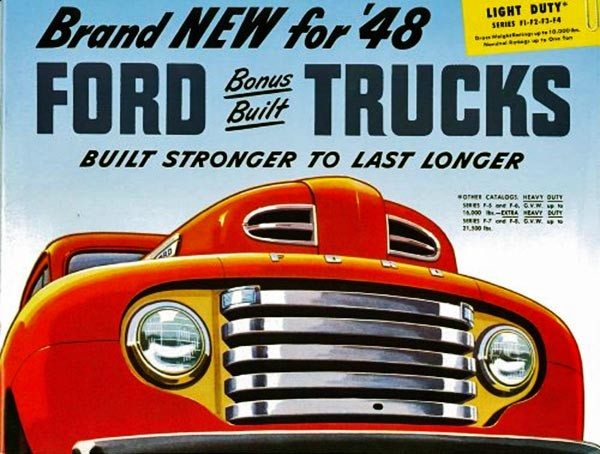 1948 Ford F3 Ad